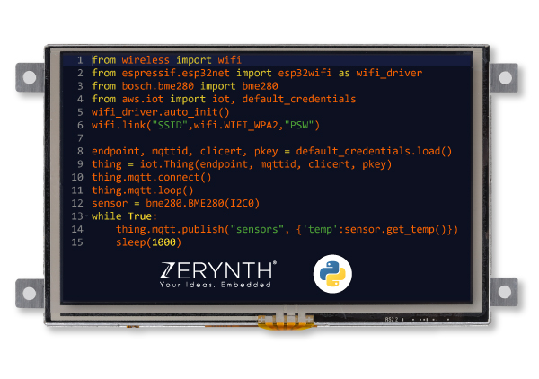 Zerynth programmable